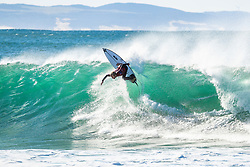 Adrian Buchan (AUS) advances to Round 3 of the 2018 Corona Open J-Bay after winning Heat 6 of Round 2 at Supertubes, Jeffreys Bay, South Africa.
