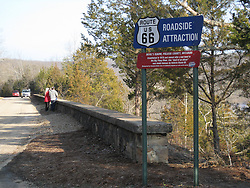 Old Route 66 near Devils Elbow, MO