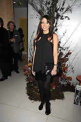 DANNI MINOGUE at a reception before the launch of the English National Ballet Christmas season launch of The Nutcracker held at the St,Martins Lane Hotel, London on 5th December 2008.