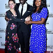 Jimmy Akingbola attend TriForce Short Festival, on 30 November 2019, at BFI Southbank, London, UK.
