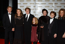 January 2, 2006 - Washington, D.C, U.S. - 03 December 2005 - Washington D.C. - Honoree Robert Redford and family. 28th Annual Kennedy Center Honors State Department Dinner held at the State Department. Photo Credit: Laura Farr/AdMedia (Credit Image: © Laura Farr/AdMedia via ZUMA Wire)