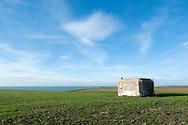 Former gun battery, near Batterie Todt, Pas-de-Calais, France © Rudolf Abraham