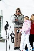 Fotosessie met de koninklijke familie in Lech /// Photoshoot with the Dutch royal family in Lech .<br /> <br /> Op de foto/ On the photo: