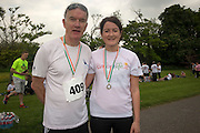 NO FEE PICTURES<br /> 28/5/16 Prof Jim Egan and daughter Jessica at the Irish Kidney Association's Run For Life in support of Organ Donation at Corkagh Park in Dublin. Pictures:Arthur Carron