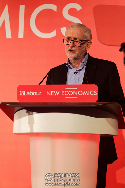 London, United Kingdom - 10 February 2018<br /> Leader of the Labour Party Jeremy Corbyn, speaking at the Labour Party's Alternative Models of Ownership Conference where he spoke about new 21st century forms of democratic ownership of industries.<br /> www.newspics.com/#!/contact<br /> (photo by: EQUINOXFEATURES.COM)<br /> Picture Data:<br /> Photographer: Equinox Features<br /> Copyright: ©2018 Equinox Licensing Ltd. +448700 780000<br /> Contact: Equinox Features<br /> Date Taken: 20180210<br /> Time Taken: 15533230