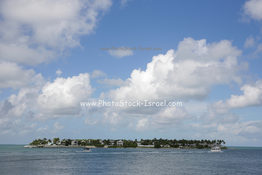 Seascape from Sunset Pier, Key West Florida