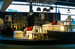 October 13, 2017 - London, London, United Kingdom - Image ©Licensed to i-Images Picture Agency. 13/10/2017. London, United Kingdom. Ikea UK at 30. ..Ikea - the Scandinavian homeware giant has been around since 1940s but is celebrating a landmark 30 years in the UK this month. It has about 400 stores in 49 countries, and is still growing – this anniversary year, new UK stores opened in Exeter and Greenwich. ..Picture by Dinendra Haria / i-Images (Credit Image: © Dinendra Haria/i-Images via ZUMA Press)