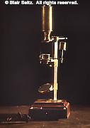 Susquehanna Valley, PA Joseph Priestley House, Northumberland, PA, 18th Century Microscope