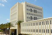 Langsdorf Hall on Campus of California State University Fullerton