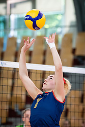 DURAO Eliana of Portugal national team during volleyball match between Slovenia and Portugal in CEV Volleyball European Silver League 2021, on 12 of June, 2021 in Dvorana Ljudski Vrt, Maribor, Slovenia. Photo by Blaž Weindorfer / Sportida