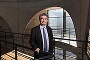 Portrait Laurent Roy, Directeur de l'Agence de l'Eau Rhone Mediterranee et Corse.  Lyon