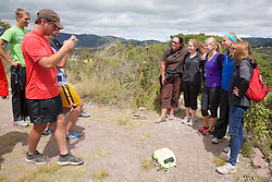 CSBSJU Group, Sendero las orquideas (orchid trail)