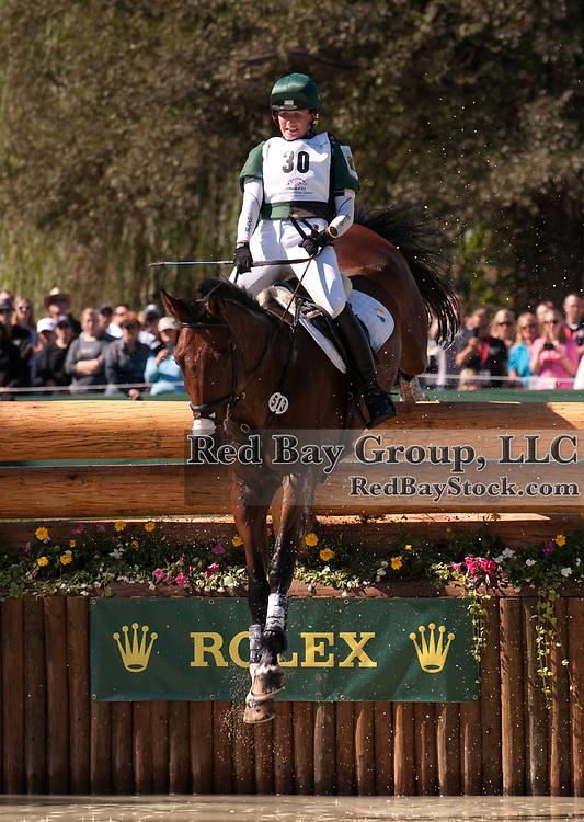 Patricia Ryan and Fernhill Clover Mist at the 2010 Alltech FEI World Equestrian Games, Lexington, Kentucky.