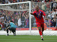 Photo: Lee Earle.<br /> Crystal Palace v Sheffield United. Coca Cola Championship. 22/09/2007. Tom Soares celebrates after scoring Palace's first.