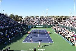 March 8, 2019 - Palm Desert, California, Usa - Tennis : BNP Paribas Open 2019 - Double Fabio Fognini Italie - Novak Djokovic  Serbie (Credit Image: © Panoramic via ZUMA Press)