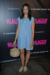 August 29, 2018 - New York, NY, USA - August 29, 2018  New York City..Aurora James attending 'An Actor Prepares' film premiere on August 29, 2018 in New York City. (Credit Image: © Kristin Callahan/Ace Pictures via ZUMA Press)