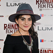 Shireen Farkhoy is an actress with a classic stylish born in England at Bristol Old Vic Theatre School attend 'Souls of Totality' film at Raindance Film Festival 2018, London, UK. 30 September 2018.