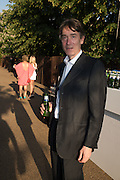 David Cholmondeley, 7th Marquess of Cholmondeley, Serpentine's Summer party co-hosted with Christopher Kane. 15th Serpentine Pavilion designed by Spanish architects Selgascano. Kensington Gardens. London. 2 July 2015.