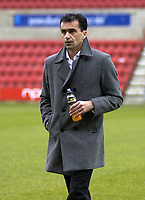 Photo: Matt Bright/Sportsbeat Images.<br /> Swindon Town v Swansea City. Coca Cola League 1. 01/01/2008.<br /> Roberto Martínez manager of Swansea City
