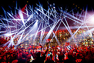 Eurovision 2014. A big party at the Semi-Final for the Eurovision Song Contest 2014 in Copenhagen, Denmark, 06 May 2014. The grand final of the 59th Eurovision Song Contest (ESC) takes place on 10 May 2014.