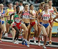 Friidrett, 12. august 2005, VM Helsinki, <br /> World ChampionshipS in Athletics<br /> Helen Clitheroe, GBR, 1500 metres<br /> Foto: Anders Hoven, Digitalsport