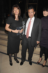 ANITA & POJU ZABLUDOWICZ at 'Figures of Speech' a fundraising gala dinner in aid of the ICA held at the Lawrence Hall, Greycoat Street, London on 27th February 2008.<br /><br />NON EXCLUSIVE - WORLD RIGHTS