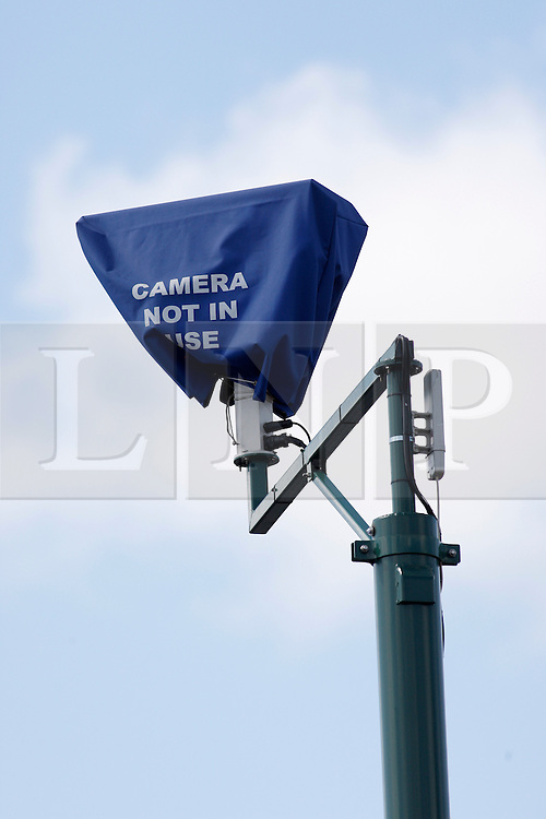 © licensed to London News Pictures. Birmingham, UK  09/05/2011. Today picture. CCTV cameras in Birmingham, like this one on the Alum Rock Road in Washwood Heath, are being dismantled today. Please see special instructions for usage rates. Photo credit should read Dave Warren/LNP