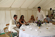 Tim Jefferies, Tamara Mellon, Noelle Reno and Matthew Mellon, Guy Leymarie and Tara Getty host The De Beers Cricket Match. The Lashings Team versus the Old English team. Wormsley. ONE TIME USE ONLY - DO NOT ARCHIVE  © Copyright Photograph by Dafydd Jones 66 Stockwell Park Rd. London SW9 0DA Tel 020 7733 0108 www.dafjones.com