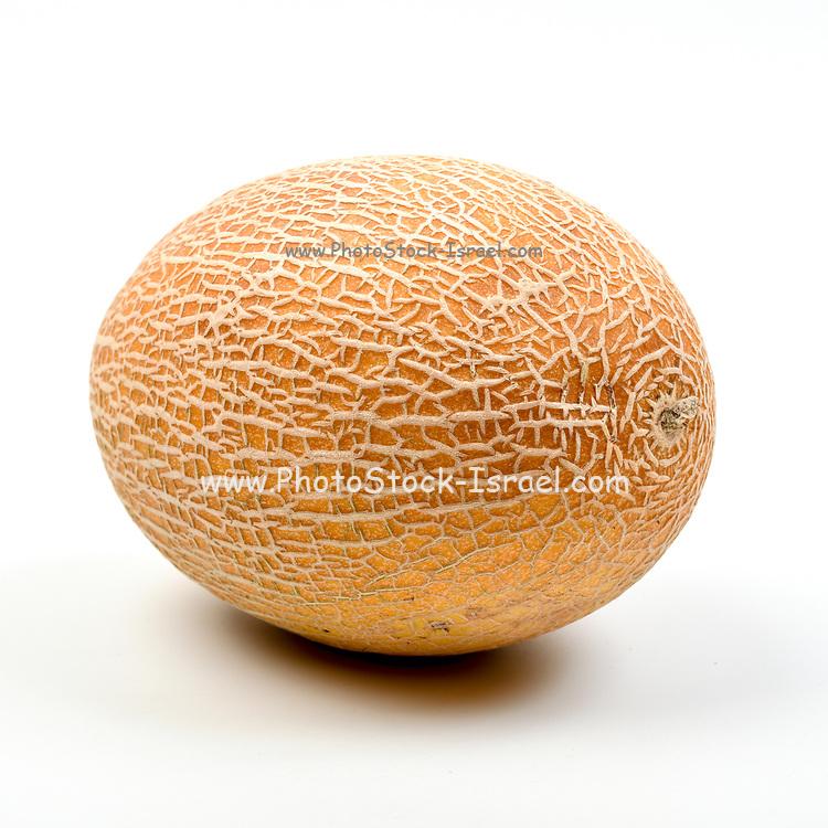 Fresh and organic Melon on white background