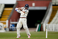 Yorkshire Adam Lyth  during the Specsavers County Champ Div 1 match between Warwickshire County Cricket Club and Yorkshire County Cricket Club at Edgbaston, Birmingham, United Kingdom on 24 April 2016. Photo by Simon Davies.