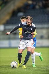 Falkirk's Mark Kerr. <br /> Falkirk 1 v 0 Cowdenbeath, Scottish Championship game played 31/3/2015 at The Falkirk Stadium.