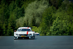 21.05.2016, Red Bull Ring, Spielberg, AUT, DTM, Red Bull Ring Spielberg, Training, im Bild Esteban Ocon (FRA / EURONICS/FREE MEN's WORLD Mercedes-AMG) // during the free practice of the DTM at the Red Bull Ring, Spielberg, Austria on 2016/05/21, EXPA Pictures © 2016, PhotoCredit: EXPA/ Erwin Scheriau
