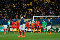 28.03.2016, Stade Mmarena, Le Mans, FRA, UEFA U21 Euro Qualifikation, Frankreich vs Mazedonien, Gruppe 3, im Bild // during the UEFA U21 Euro qualifier group 3 match between France and Macedonia at the Stade Mmarena in Le Mans, France on 2016/03/28. EXPA Pictures © 2016, PhotoCredit: EXPA/ Pressesports/ Vincent Michel<br /> <br /> *****ATTENTION - for AUT, SLO, CRO, SRB, BIH, MAZ, POL only*****