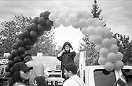 Ilford HP5 film, street photography and impromptu portraiture at the 2019 Winnipeg Pride Parade