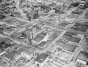 """ackroyd-00067-42. """"Rose Festival Parade. Aerials. June 13, 1947 (Eastside business district.)"""