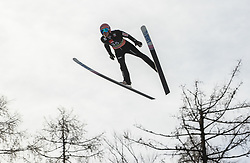 Dawid Kubacki (POL) soaring through the air during the Ski Flying Hill Individual Competition at Day 2 of FIS Ski Jumping World Cup Final 2019, on March 22, 2019 in Planica, Slovenia. Photo by Masa Kraljic / Sportida