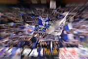 tifosi fossa dei leoni<br /> Segafredo Virtus Bologna - Kontatto Fortitudo Bologna<br /> Campionato Basket LNP 2016/2017<br /> Bologna 06/01/2017<br /> Foto Ciamillo-Castoria