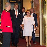 NLD/Amsterdam/20150926 - Afsluiting viering 200 jaar Koninkrijk der Nederlanden, Willem-Alexander en Ank Bijleveld