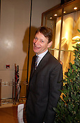 Rory Knight Bruce. Book party for LAST VOYAGE OF THE VALENTINA by Santa Montefiore (Hodder & Stoughton) Asprey,  New Bond St. 12 April 2005. ONE TIME USE ONLY - DO NOT ARCHIVE  © Copyright Photograph by Dafydd Jones 66 Stockwell Park Rd. London SW9 0DA Tel 020 7733 0108 www.dafjones.com