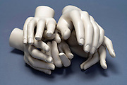 bundle of mannequin hands