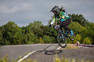 #300 (ALVES DOS SANTOS Julia) BRA Crisp Nologo at Round 8 of the 2019 UCI BMX Supercross World Cup in Rock Hill, USA