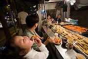 Hongdae. Korean snacks.