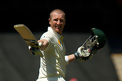 BRAD HADDIN - Action from the 2nd Ashes Test Match played at Adelaide Oval, Adelaide, South Australia, Friday, December 6th 2013. Photo: Ryan Schembri - SMP Images/ESPA(Credit Image: © ESPA Photo Agency/Cal Sport Media/ZUMAPRESS.com)