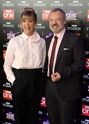 Mel Giedroyc and Graham Norton attending the BBC Let It Shine launch, The Ham Yard Hotel, London. Picture Credit Should Read: Doug Peters/EMPICS Entertainment