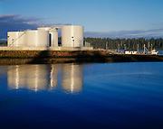 Petro Marine Services' tank farm, Craig, Southeast Alaska.
