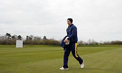 Glamorgan's Craig Meschede  - Photo mandatory by-line: Harry Trump/JMP - Mobile: 07966 386802 - 23/03/15 - SPORT - CRICKET - Pre Season Fixture - Day 1 - Somerset v Glamorgan - Taunton Vale Cricket Club, Somerset, England.