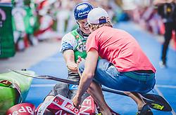 08.09.2018, Lienz, AUT, 31. Red Bull Dolomitenmann 2018, im Bild 2. Platz Schmid Gerhard (AUT, Pure Encapsulations) // 2nd placed Schmid Gerhard (AUT, Pure Encapsulations) during the 31th Red Bull Dolomitenmann. Lienz, Austria on 2018/09/08, EXPA Pictures © 2018, PhotoCredit: EXPA/ JFK