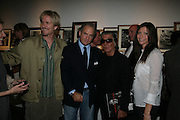 Matthew Modine, Charles Finch, Roberto Cavalli and Victoria Micchetti- book launch party hosted by Vanity Fair to celebrate  publication, Shot In Sicily. Hamiltons Gallery, 13 Carlos Place, London,17 September 2007. -DO NOT ARCHIVE-© Copyright Photograph by Dafydd Jones. 248 Clapham Rd. London SW9 0PZ. Tel 0207 820 0771. www.dafjones.com.