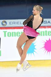 05.12.2015, Dom Sportova, Zagreb, CRO, ISU, Golden Spin of Zagreb, freies Programm, Damen, im Bild Dasa Grm, Slovenia. // during the 48th Golden Spin of Zagreb 2015 ladys Free Program of ISU at the Dom Sportova in Zagreb, Croatia on 2015/12/05. EXPA Pictures © 2015, PhotoCredit: EXPA/ Pixsell/ Davor Puklavec<br /> <br /> *****ATTENTION - for AUT, SLO, SUI, SWE, ITA, FRA only*****