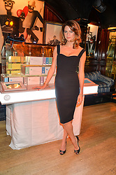 GABRIELA PEACOCK at the launch of GP Nutrition held at Annabel's, 44 Berkeley Square, London on 26th January 2016.